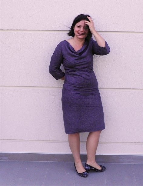 Burda 10 / 2012 Ekim sayısı model 118 elbise DIY fashion moda dikiş blog