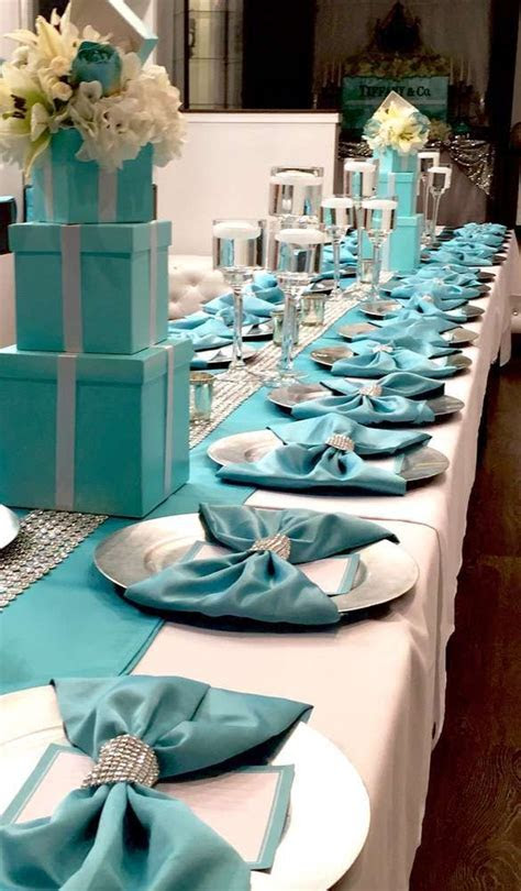 Tiffany and Company Bridal/Wedding Shower Party Ideas in