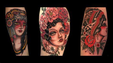 girl head tattoo ideas interpretations beauty