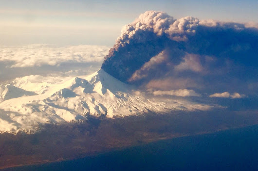 Pavlof Volcano Erupts, Covers 400 Miles of Alaska in Ash