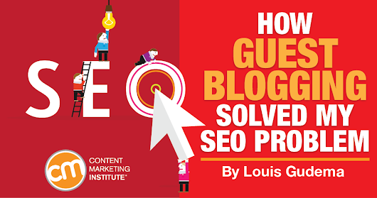 How Guest Blogging Solved My SEO Problem