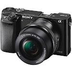Sony a6000 ILCE-6000L 24.3 MP Mirrorless Digital Camera - 1080p - Black - 16-50mm Lens