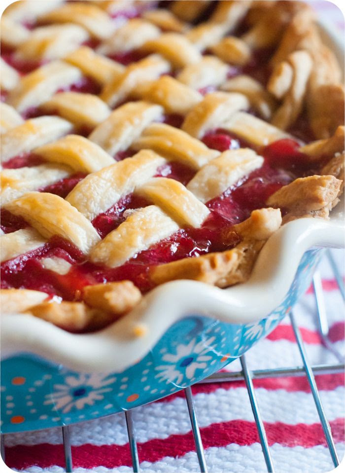 tart cherry pie recipe ... made using frozen cherries!
