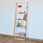 Lavish Home 83-15-5 5 Tier Decorative Leaning Ladder Book Shelf