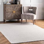 Chalet 8 ft. x 10 ft. Taupe Diamond Cotton Check Flatwoven Rug - RugsUSA | 200HMCO6B-8010