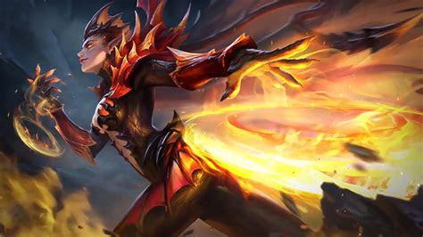 karries  skin dragon queen mobile legends