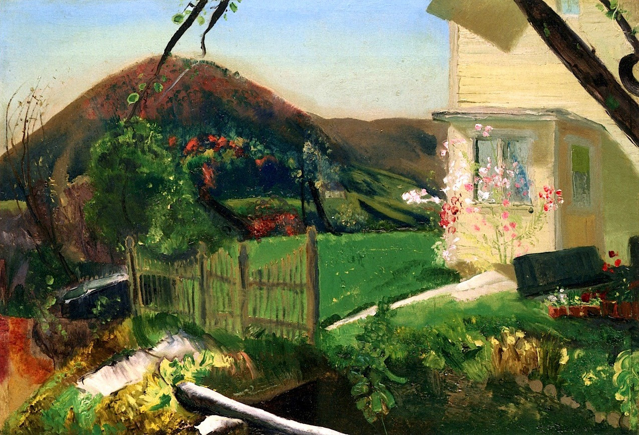 The Front Yard George Wesley Bellows - 1920