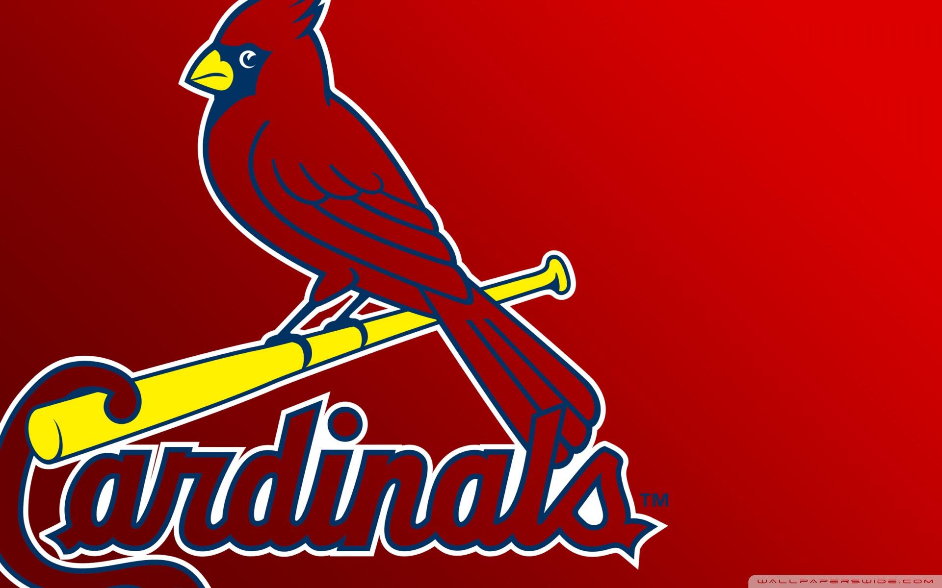 St Louis Cardinals Logo Ultra Hd Desktop Background Wallpaper For