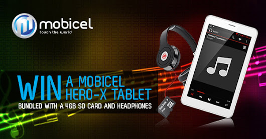 WIN a Mobicel Hero-X Tablet