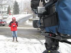 One Man Snowy Standup