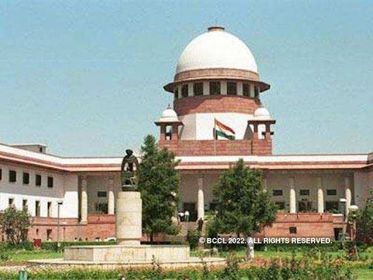 SC: SC acknowledged legitimate state interest in making Aadhaar must for welfare plans | India News - Times of India