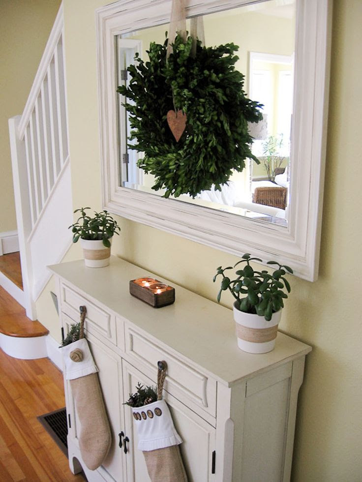 Cozy.Cottage.Cute.: Christmas Decorating  For the Home  Pinterest