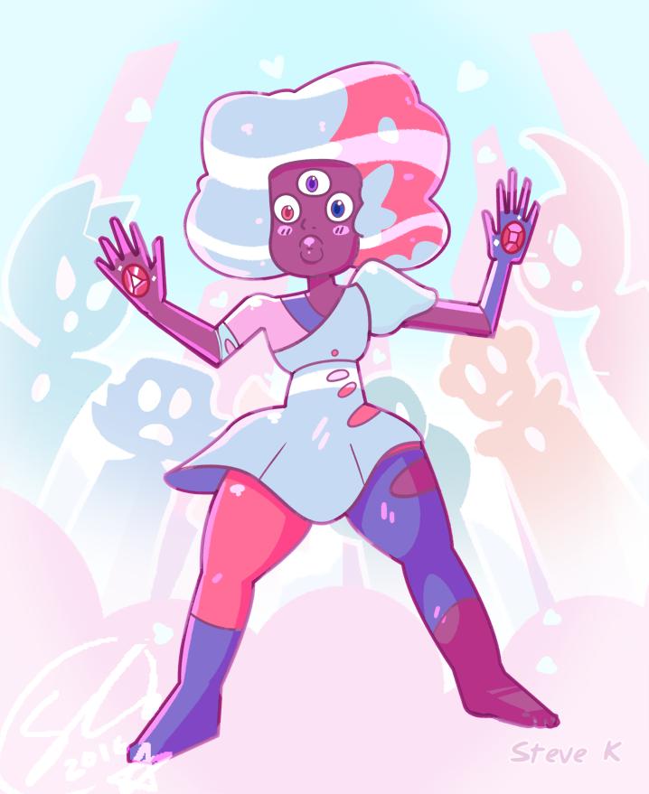 Cotton-Candy Bubblegum.