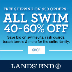 Lands' End 40-60% off Swim