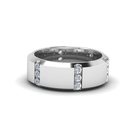 Tricolor 3 Ring Stackable Diamond Anniversary Gifts Band