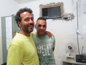 Marcos Palmeira aceita pedido de desculpas do ladrão em Itororó na Bahia (Foto: Keile Araújo/ Blog Itororó Já)