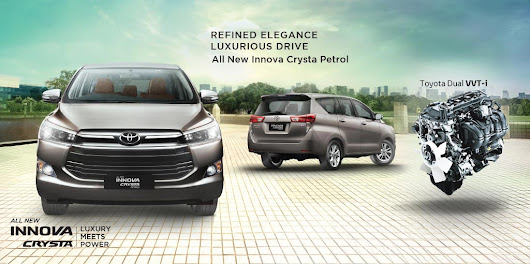 Showcasing Innova Crysta Luxury Meets Power at Orion Mall