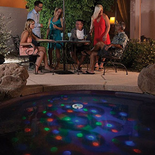 Pool Party Lights, Fountains and Inflatables