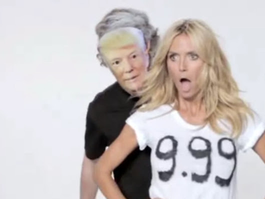 Donald Trump says Heidi Klum is 'no longer a 10' - her reaction is priceless - Entertainment - NZ Herald News
