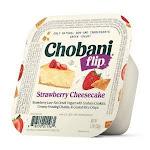 Chobani Low Fat Strawberry Cheesecake Flip Greek Yogurt 4X5.3Oz./Cup (Pack Of 3)