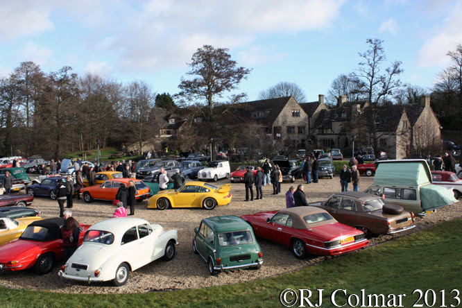 Cotswold Classic Car Club, Frogmill, Andoversford