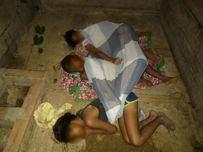 Irmãos são resgatados pela polícia após serem encontrados dormindo em chiqueiro no interior do AC