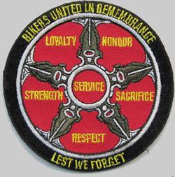 Bikers United Patch