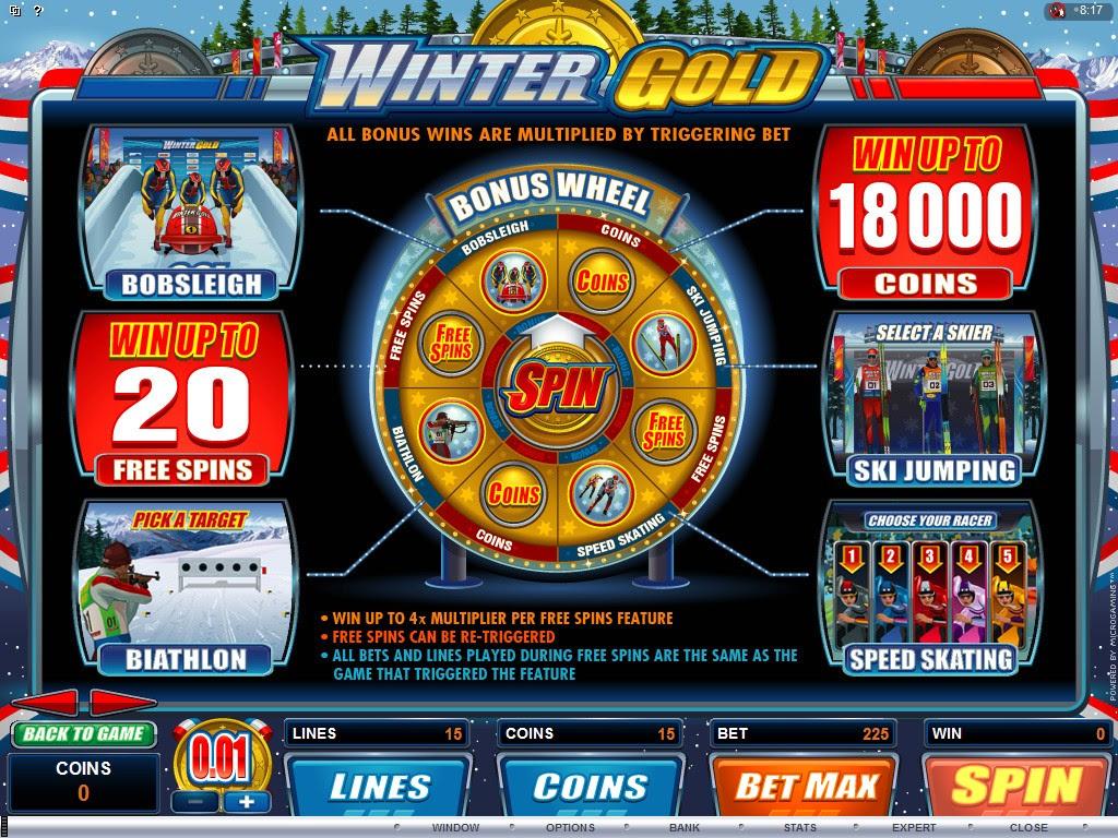 Free slots games bonus