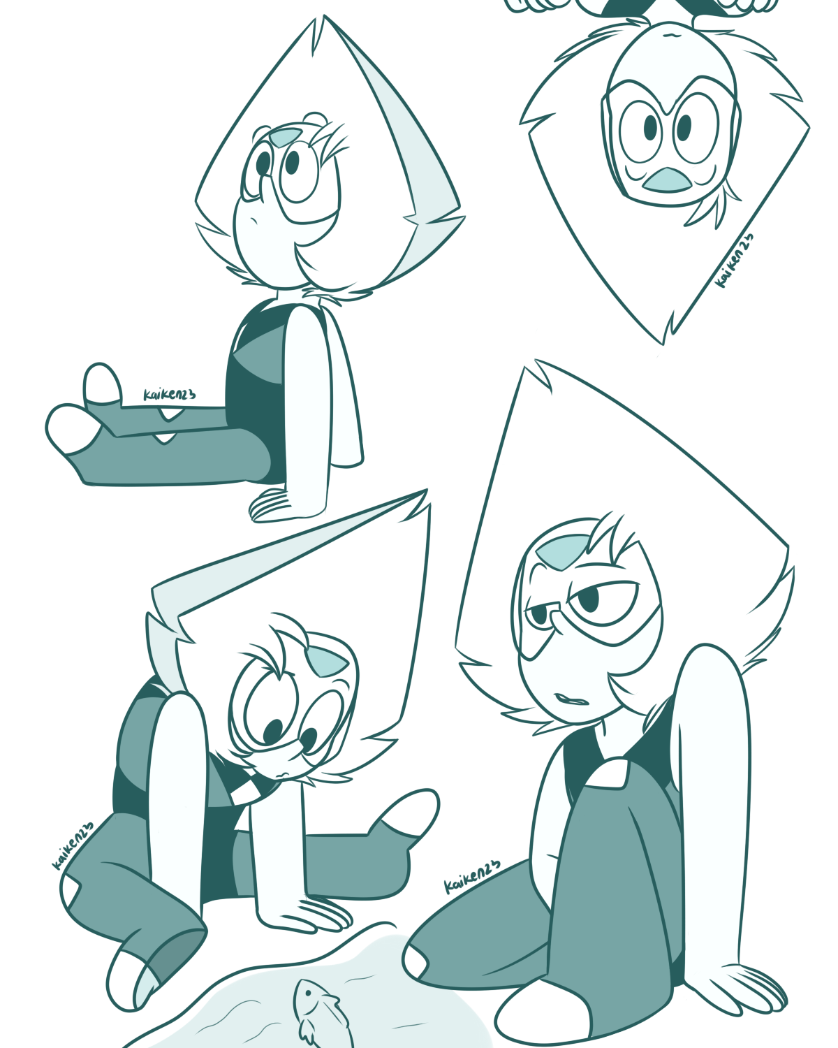 Day 65,66,67,68 . I took some random poses for these days .