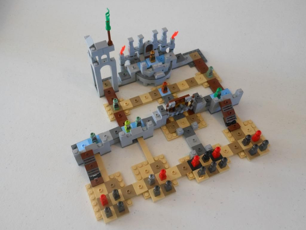The Battle of Helm's Deep board game
