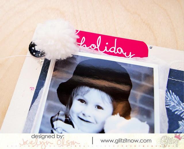 Hello Christmas Mini Album Close-Up