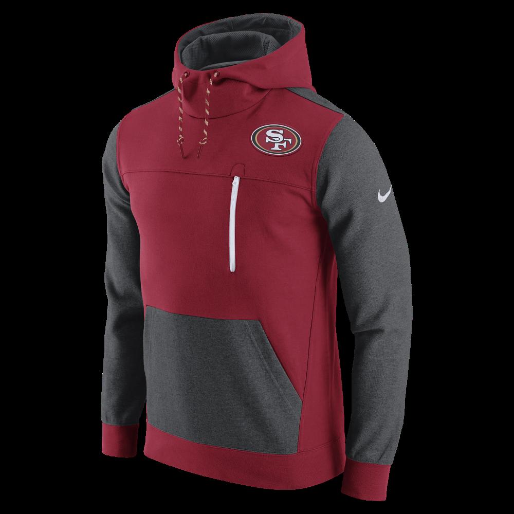 Nike AV15 Fleece Pullover NFL 49ers Mens Hoodie Size Medium Red Shop Your Way: Online