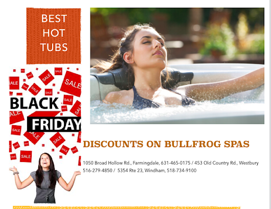 Hot Tubs - Black Friday/Small Business Saturday Sales: Not Just About Price - besthottubs