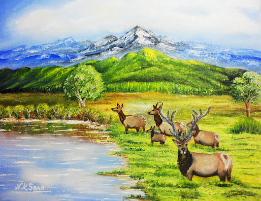 Art - The Herd of Elks