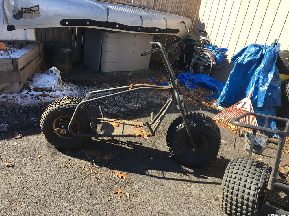 Looking Into Building A Homemade Fat Tire Mini Bike Oldminibikes Com