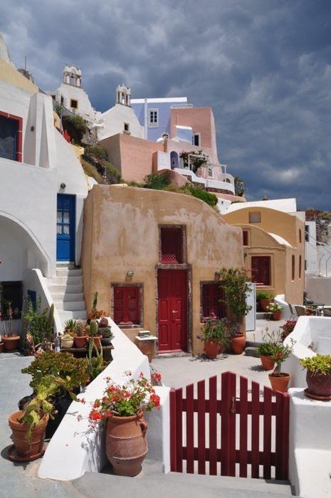 Oia, Santorini, Grécia
