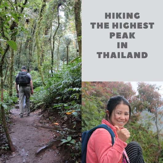 Hiking the Highest Peak in Thailand!