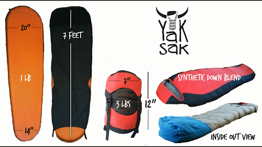 The Yak Sak Sleeping Bag: One For You, One For The Homeless!