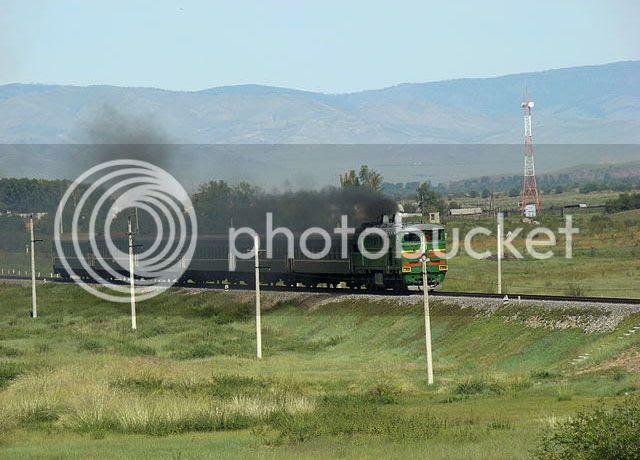 Irkutsk-Naushki passenger train