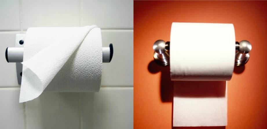 Αν το κρεμάτε με την άκρη μπροστά (αριστερή εικόνα) είστε πολύ δυναμικός άνθρωπος.