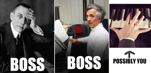 11 steps to playing a Rachmaninov concerto like a BOSS