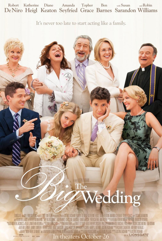Resultado de imagem para movie poster the big wedding