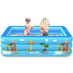 Nomeni Children Inflatable Swimming Pool Inflatable Bathtub Kids Summer Water Fun Play