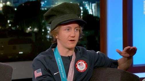 #RedGerard: Family can't stop celebrating win #Olympic snowboarding gold medalist Red Gerard spoke with...