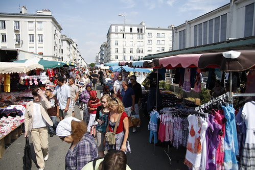 Sunday flea market in Brest 2
