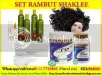 Set Rambut Shaklee