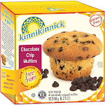 Gluten Free Chocolate Chip Muffins [Case of 8] by Kinnikinnick