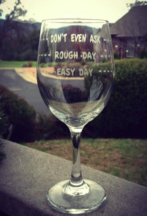 EtchedExpressions Etsy personalised wine glass