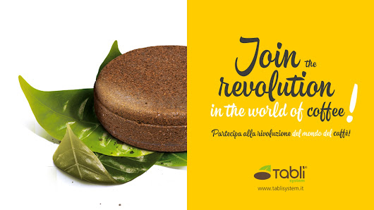 Tablì - the first green tablet of coffee