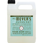 Mrs Meyers Clean Day Hand Soap Refill, Basil Scent - 33 fl oz jug